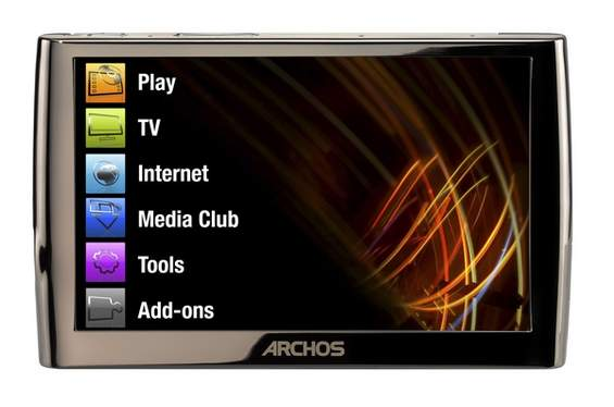 Archos 5 MP4 player