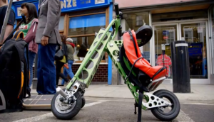Gadget Man  Urb-E Commuter electric bicycle the worlds most compact electric vehicle