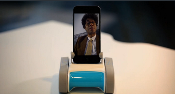 romo iphone robot